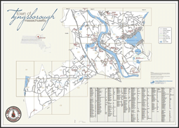 Small Map of Tyngsborough