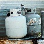 Propane & Helium Tanks